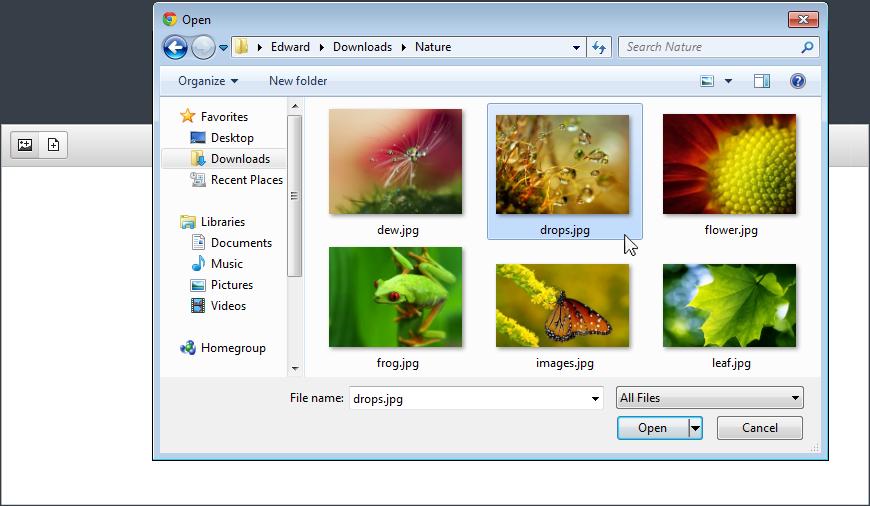 Fast Image Uploader